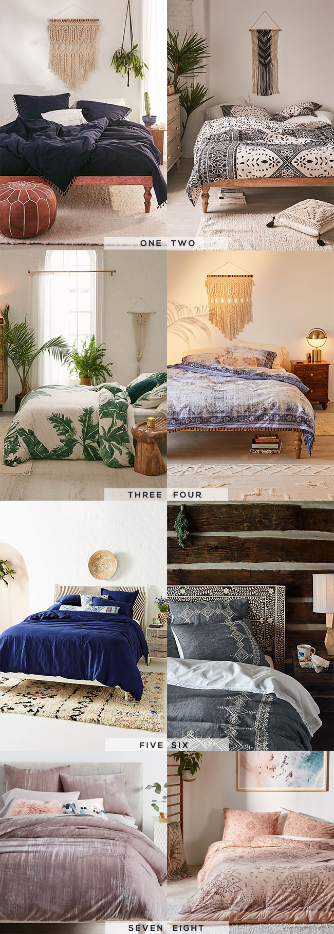 8 Gorgeous Boho Duvet Covers