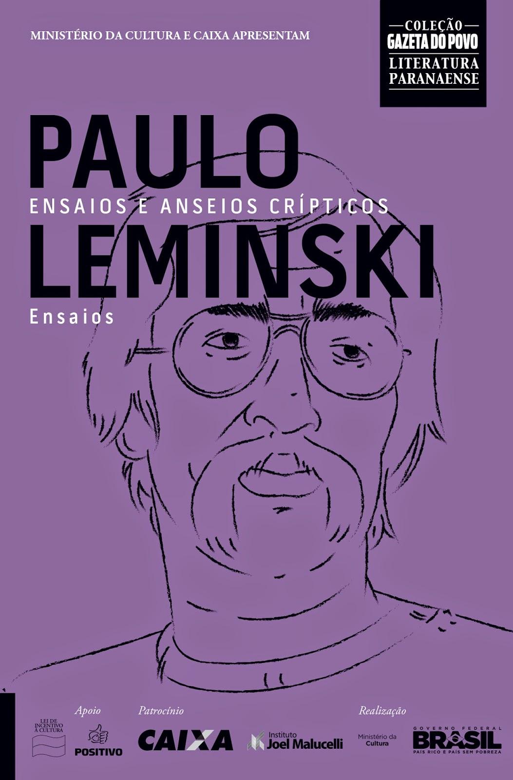 """d500b1d07c """"Ensaios e anseios crípticos"""", de Paulo Leminski, foi reeditado e poderá  ser adquirido pela Coleção no dia 28 de Novembro. O livro traz uma  oportunidade de ..."""