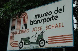 Horarios y tarifas del museo de transporte Caracas. Entrada al Museo de Transporte de Caracas Guillermo José Schael.