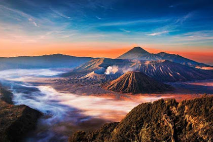 Wisata Gunung Berapi di Asia Paling Spektakuler