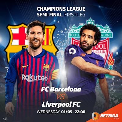 'Liverpool Itapata Tabu Dhidi Ya Barcelona'
