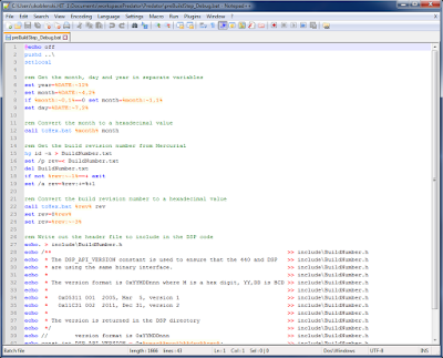 Notepad++ example screenshot