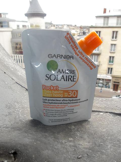 Lait Protecteur Ultra-Hydratant Pocket FPS 30 Ambre Solaire - Garnier