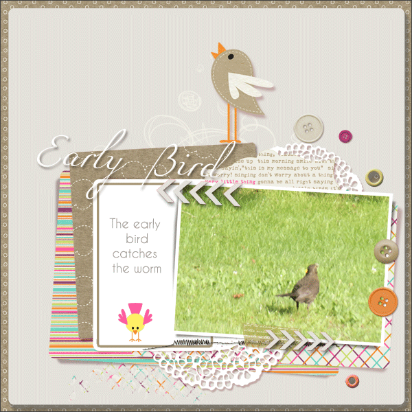 early bird © sylvia • sro 2015 • template angelle design • kit dunia designs • three little birds