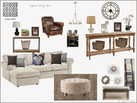 A Lived in Home: Living Room Design