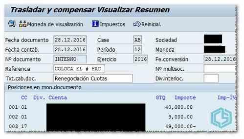 Resultado de la simulación - Consultoria-SAP