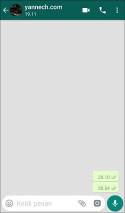 Cara Membuat Tulisan Blank (Kosong) di Semua Media Sosial Android