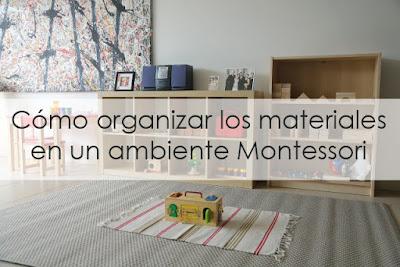 Un factor importante en Montessori es el ambiente preparado, aprender a presentar los materiales es fundamental