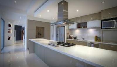 Desain interior ruang dapur rumah minimalis