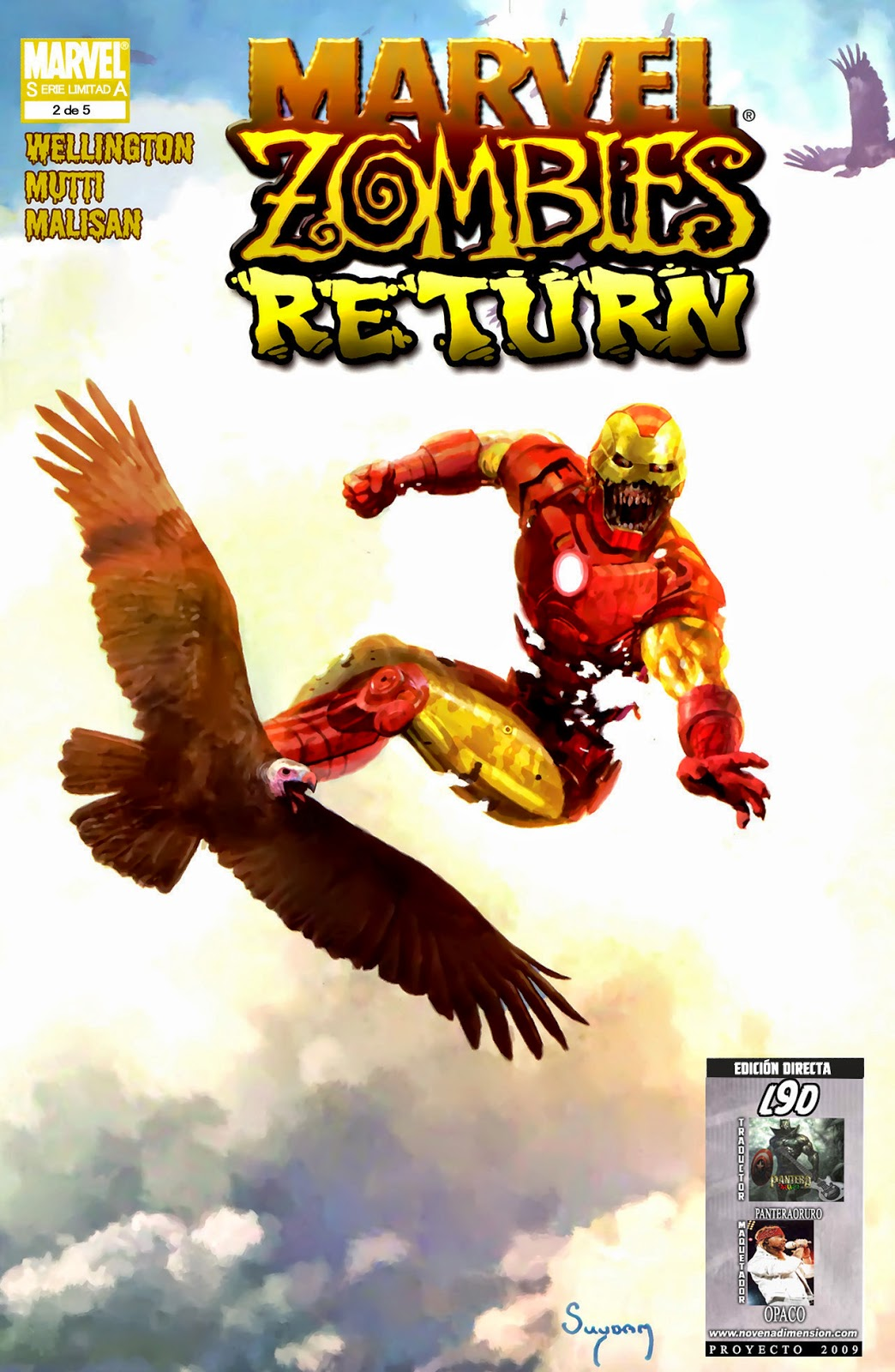Marvel Zombies Return: Iron Man