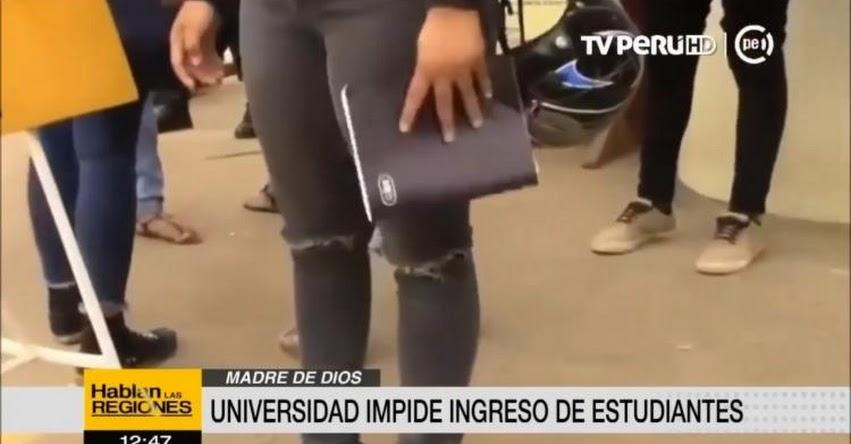 Prohíben ingreso a alumnas con prendas «provocativas» en la Universidad Nacional Amazónica de Madre de Dios - UNAMAD