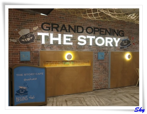 The story cafe x Dustykid Grand Opening
