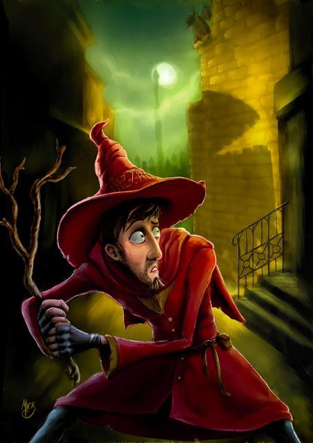 Rincewind un mago un tanto peculiar