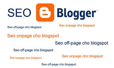 cach seo blogspot