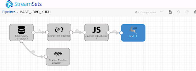 Dennis and Jim's Data Engineering Blog: Using SQL Server Change Tracking with Streamset's Data Collector Kudu Destination