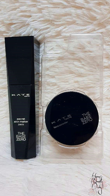 Review; KATE's Secret Skin Maker Zero The Base Zero SPF18 PA++ (Liquid + Powder) 02 Average Toned Skin (Formerly OC-C)