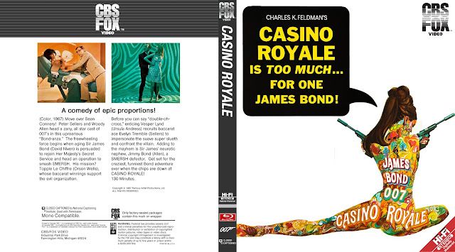 Casino Royale (1967) Bluray Cover