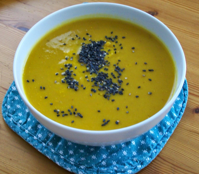 rezept vegan zeller-kürbis-creme-suppe