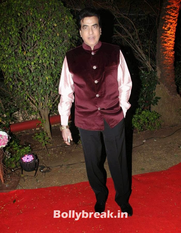 Jeetendra, Ahana Deol Wedding & Reception Pics