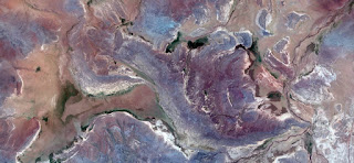 tribute to Pollock,nature imitating art,abstract landscapes of deserts ,Abstract Naturalism,abstract photography deserts of Africa from the air,abstract surrealism,abstract expressionism,fantasy color