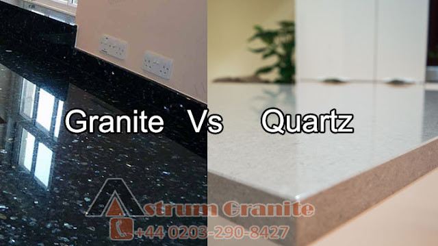 quartz worktop, and granite worktop