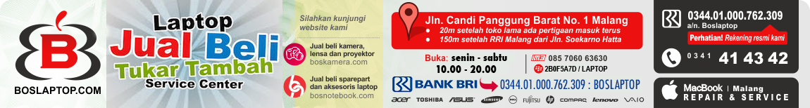 Jual Beli Laptop Bekas Second Bergaransi dan Servis Laptop