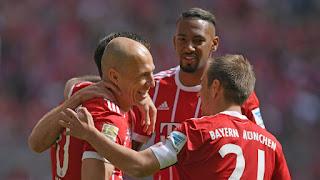 Bayern Munich vs Hannover 96 (3-0)