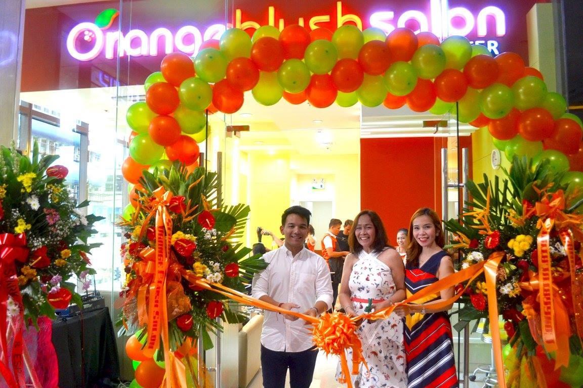 Orange blush salon cubao opens franchise branches for Salon orange