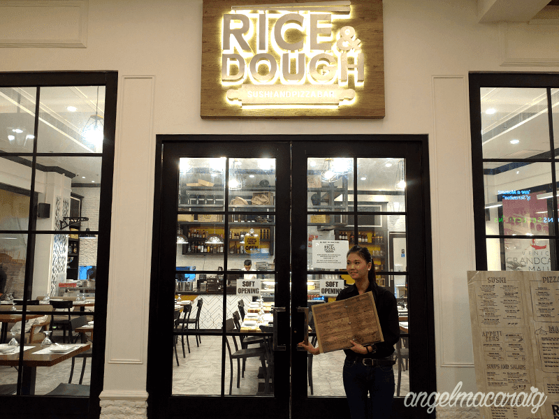 Rice & Dough's Entrance