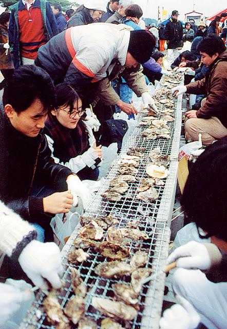 Matsushima Oyster Festival, Matsushima Town, Miyagi Pref.
