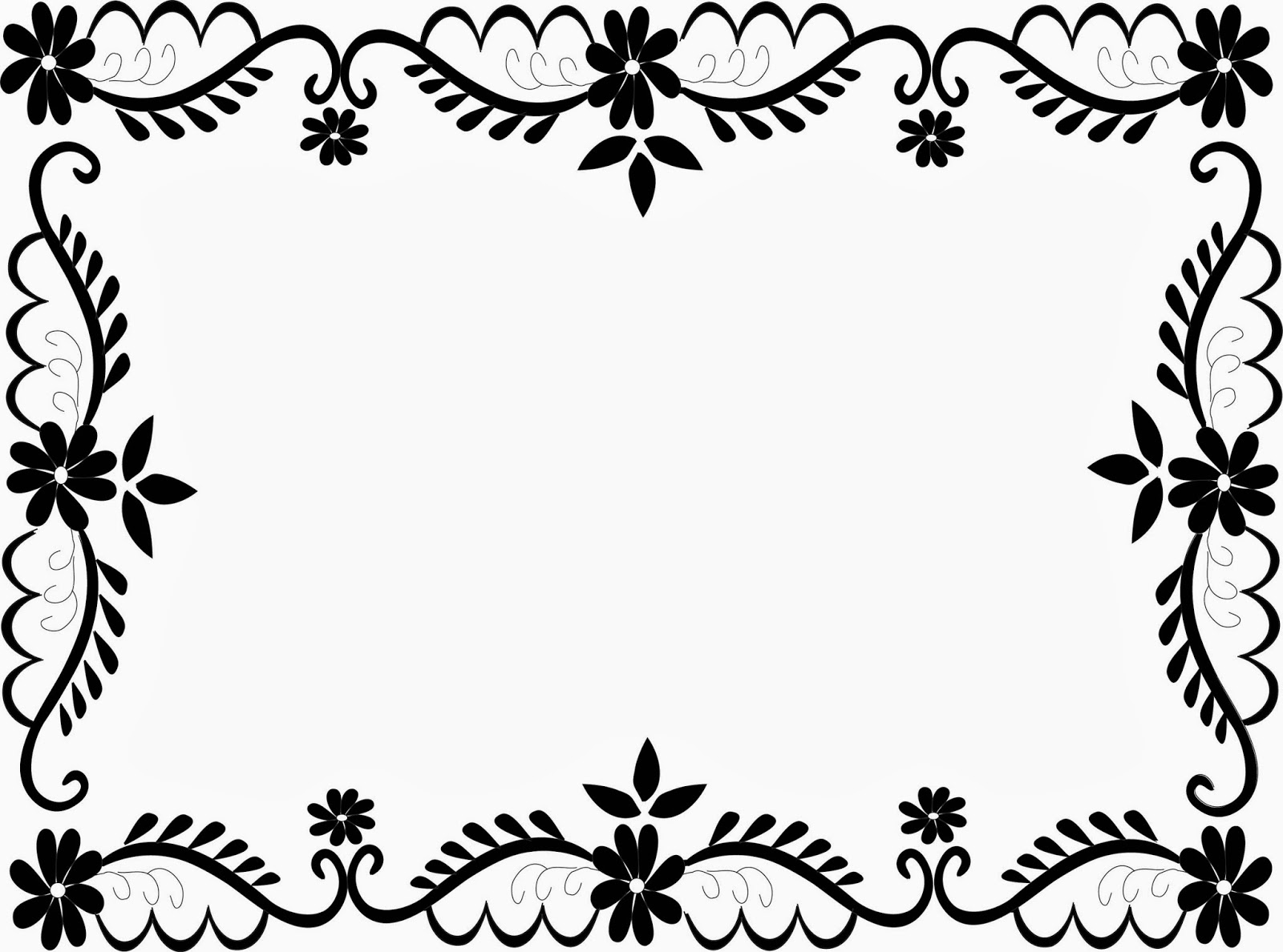 Flower Frame Clip Art Curve Desktop Background X