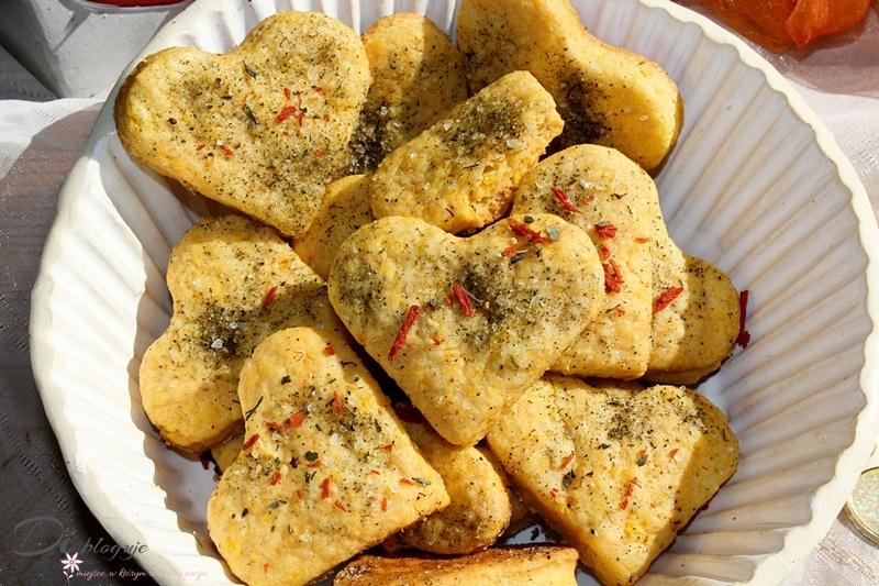 Kruche ciasteczka z serka topionego