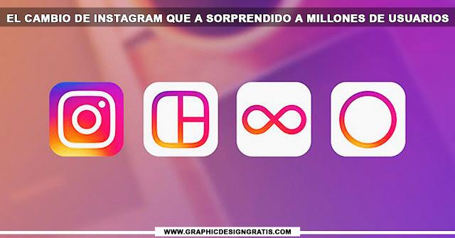 El cambio de Instagram que a sorprendido a millones de usuarios