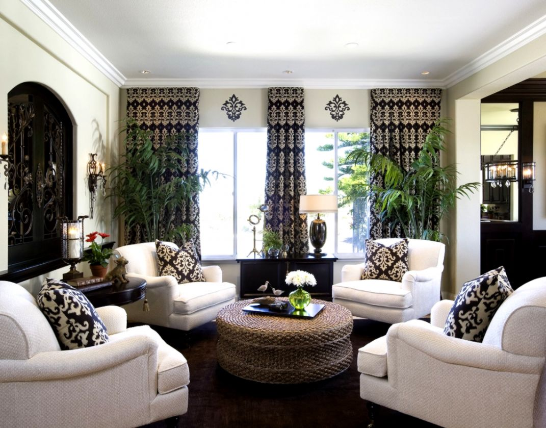 Interior Design Living Room Traditional Photo Wallpapers