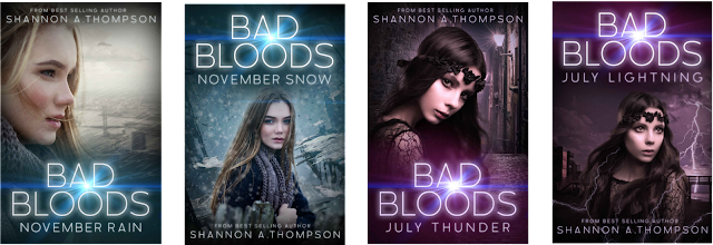 Bad Bloods series on Amazon