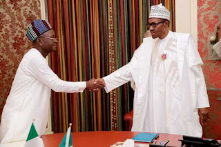 Samuel Ortom and buhari