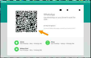 cara scan qr codde whatsapp PC windows