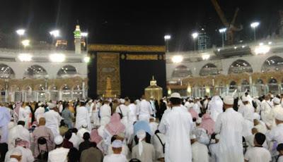 Suhu Udara di Mekkah Pagi Hari Capai 34 Derajat Celsius