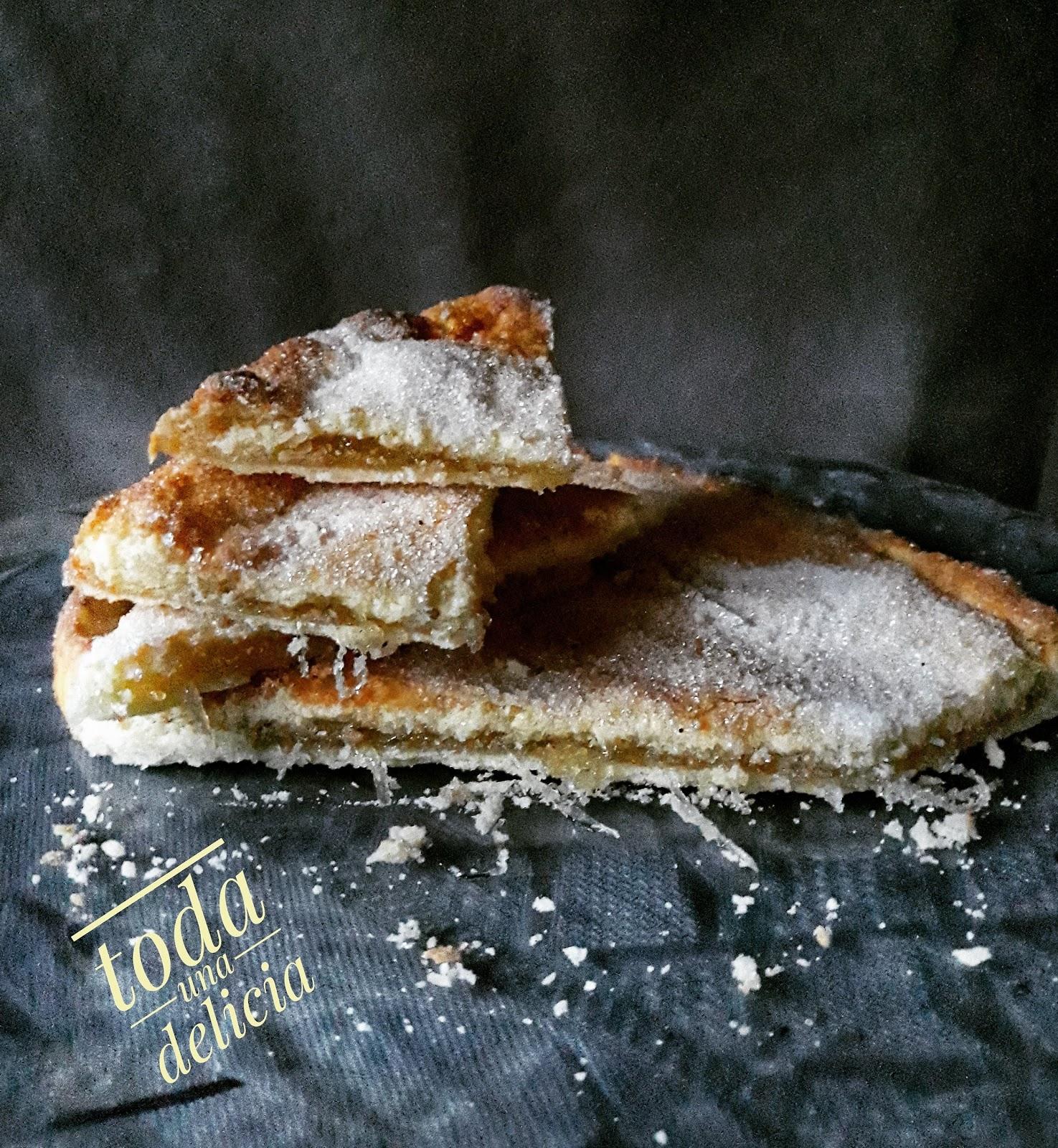 TORTA VIRGEN DE LAS ANGUSTIAS CON CABELLO DE ANGEL ,SIN GLUTEN NI LACTOSA