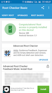 root checker Gionee m5