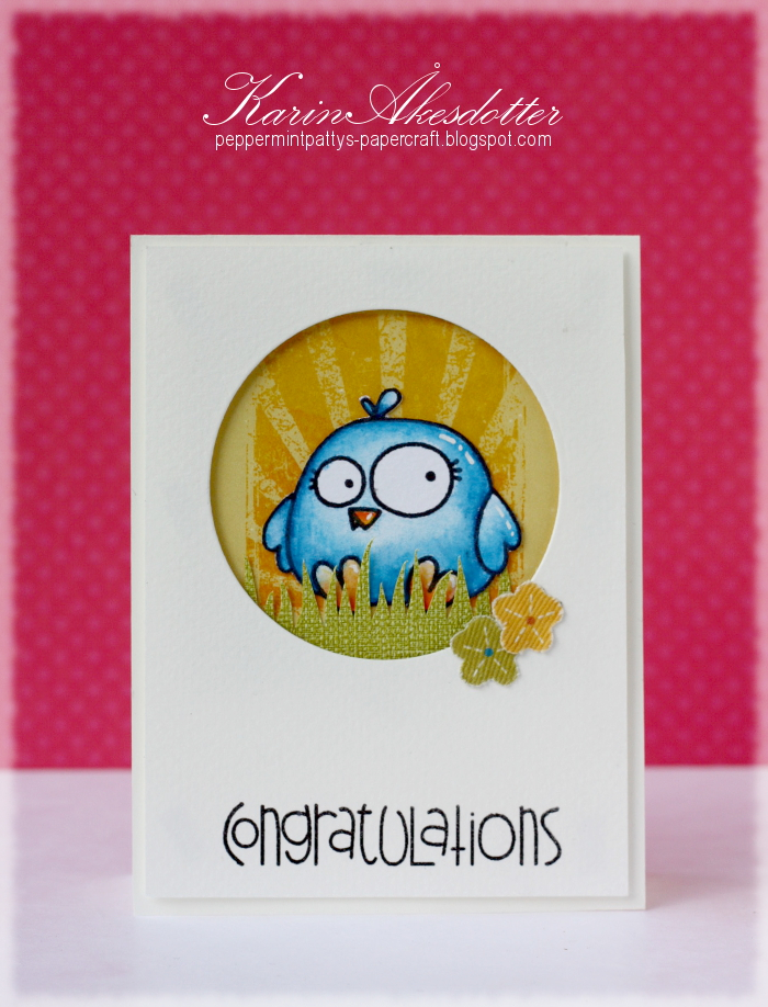 Peppermint Patty S Papercraft Congratulations