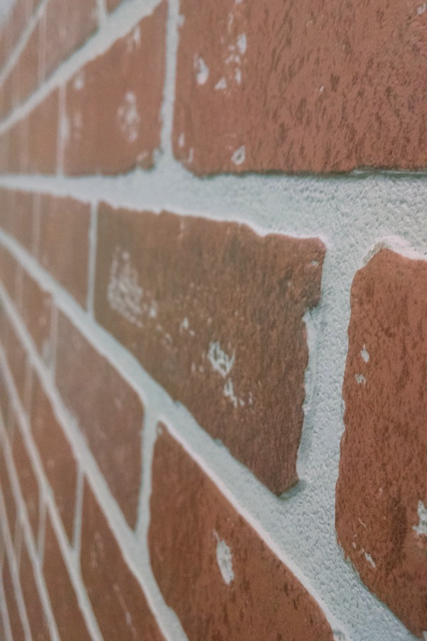 faux bricks panelling