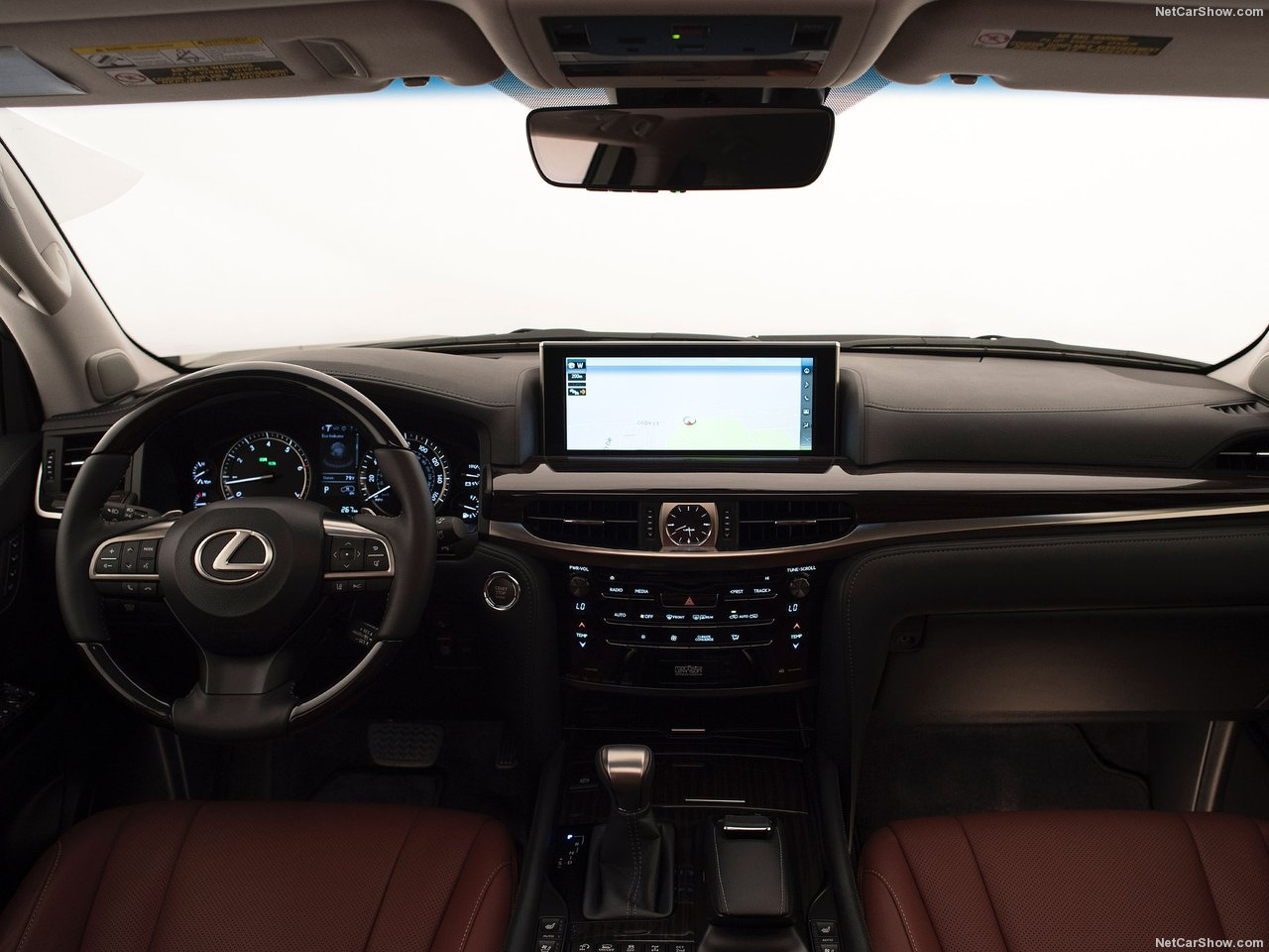 Lexus-LX_570_Interior_2016_Best Luxury SUV