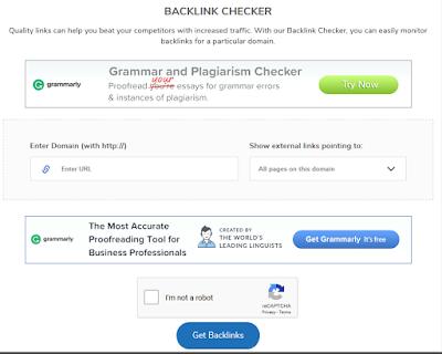 Tools Backlink Checker berkualitas