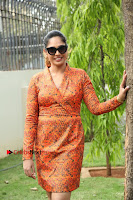 Actress Mumtaz Sorcar Stills in Short Dress at Guru Movie Success meet  0255.JPG