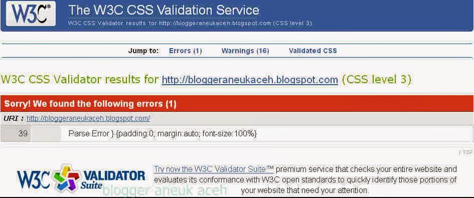 css error bskin blogger