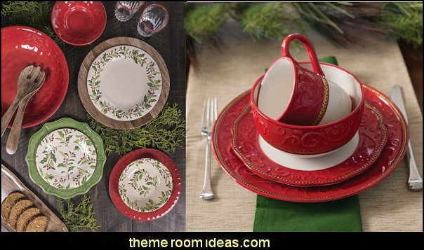 christmas kitchen decorations - Christmas table ware - Christmas mugs  - Christmas table decorations - Christmas glass ware - Holiday decor - Christmas dining - christmas entertaining - Christmas Tablecloth - decorating for Christmas - Santa mugs - Christmas Cookie Cutters  - snowman and reindeer kitchen  accessories - red cardinal kitchen decor - seasonal dinnerware