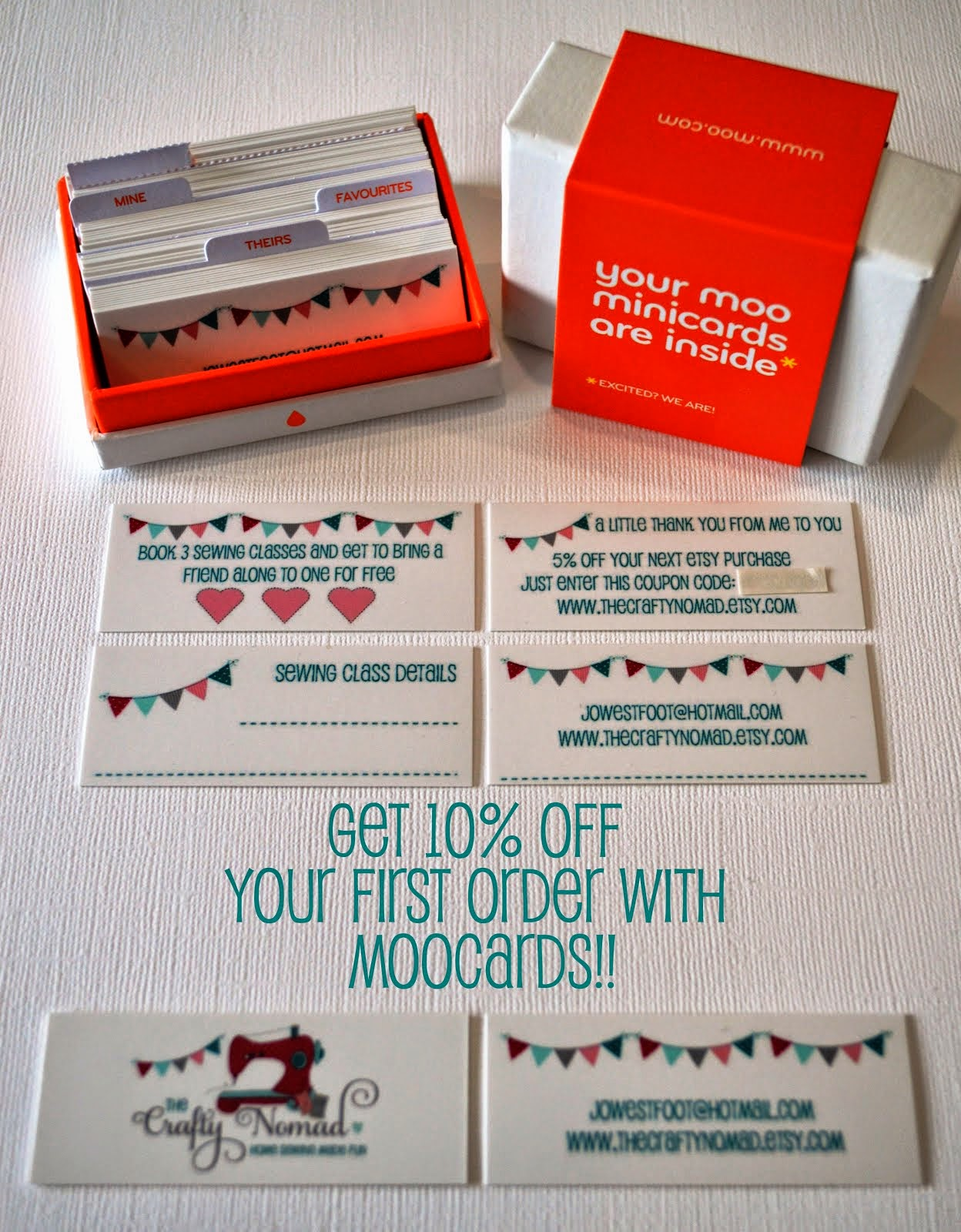 Moo Cards 10% Discount Code (UK)