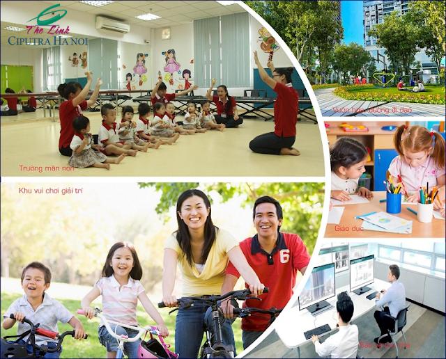 Tiện ích dự án The Link Ciputra - Hà Nội