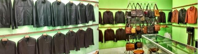 Gambar Showroom Leather Jacket